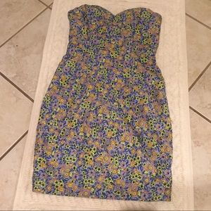 Anthropologie plenty by Tracy Reese strapless